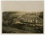 Tennessee School for the Deaf and Dumb -- Ward Building and Cottage C under construction