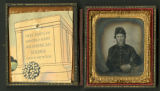 Tintype of unidentified Union soldier