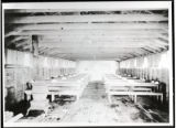 Mess hall of a Civilian Conservation Corps camp