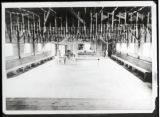 Recreation hall at the Civilian Conservation Corps camp in Lewis County