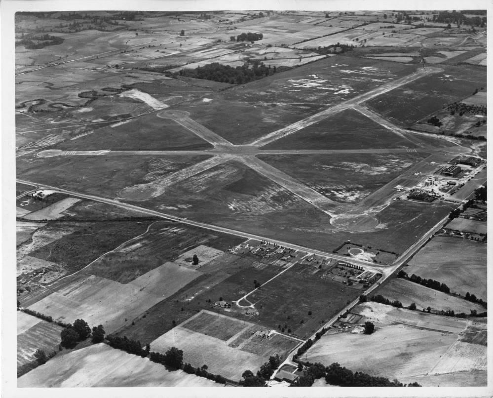 1961-2 Photo Sky View of  Memphis Municipal Airport